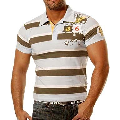 Rusty Neal Slim Fit Polo Style Hombre Camiseta de Manga Corta ...