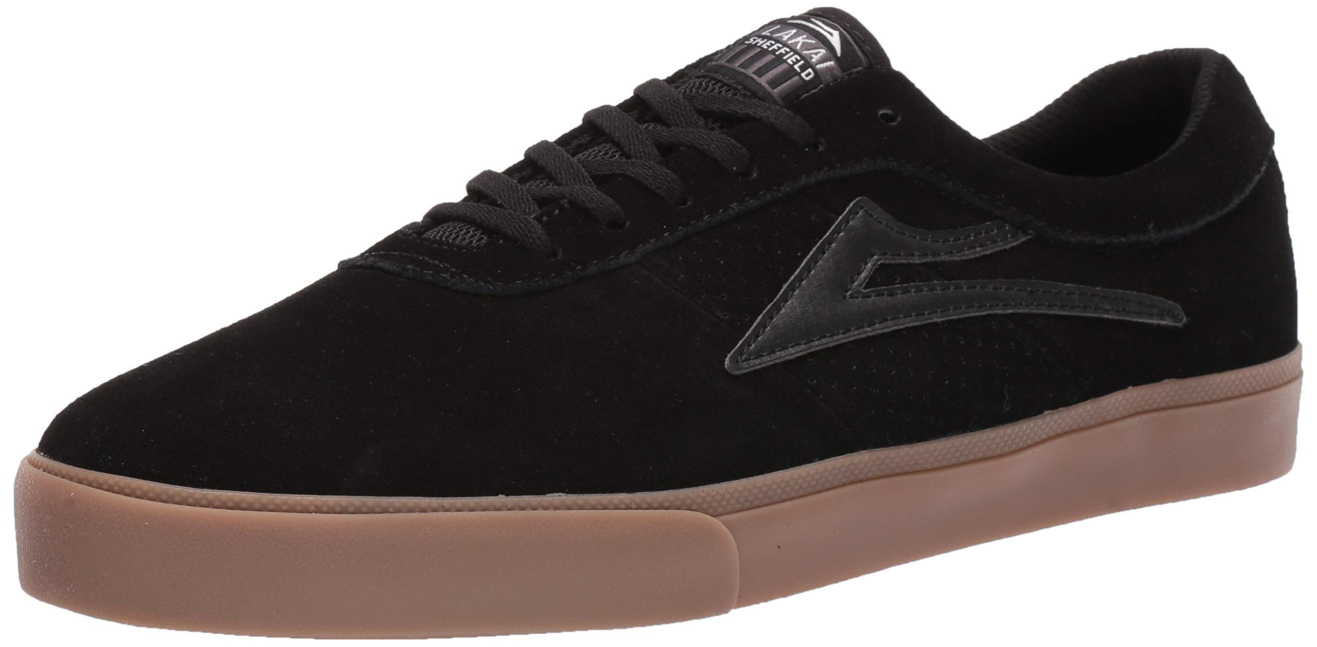 Lakai Limited Footwear Mens Sheffield Skate Shoe, Black/Gum Suede, 11.5 M US by Lakai Limited Footwear Mens
