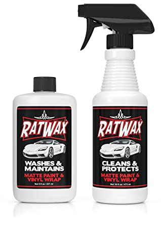 Vinilo para coche Kit de cuidado, rata wax- limpia y protege: Amazon.es: Coche y moto