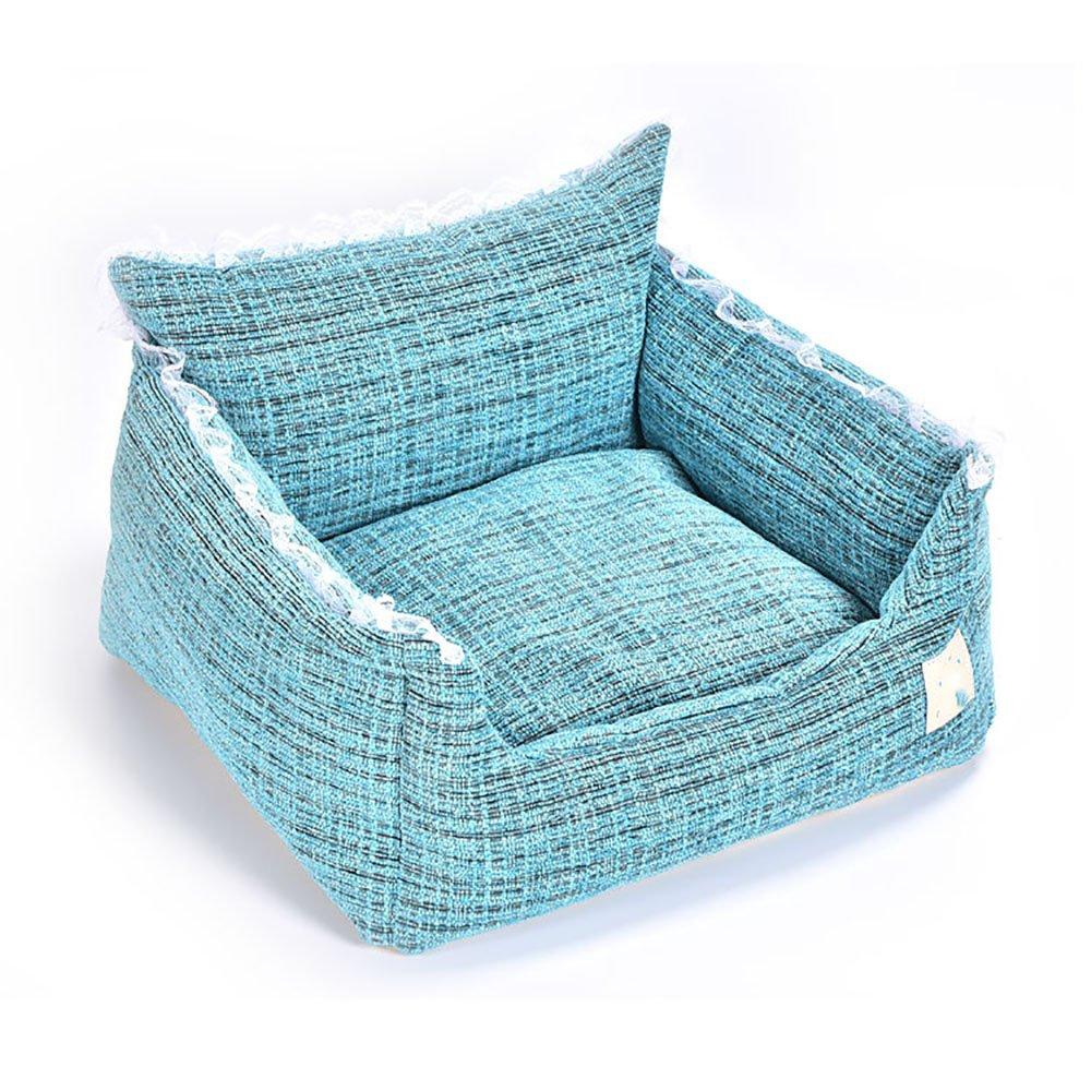 Aqi7 alta qualità semplice Dog Pet divano letto, morbido e confortevole Pet nido, Small Pet Bed