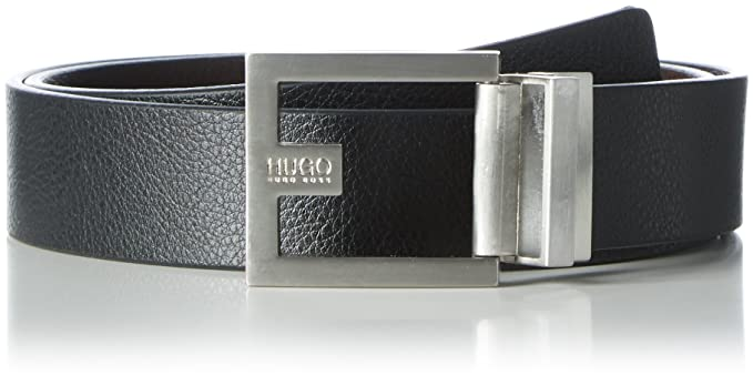 d2fca781544 Amazon.com: BOSS Green Mens Belt C-FLEMING 50307788 Size 34 in ...