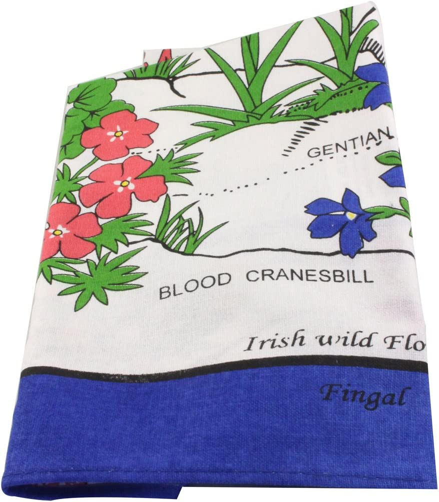 Charles Gallen Apron Irish Wild Flowers