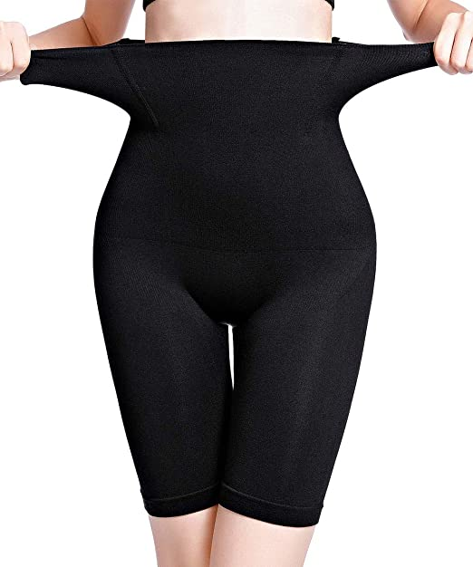 Women/'s Seamless Tummy Control and Thigh Slimming High Waist Body Shaper