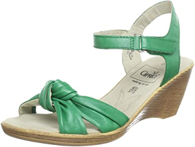 CAPRICE 9 9 28380 20, Sandales femme Vert (Green), 35.5 EU