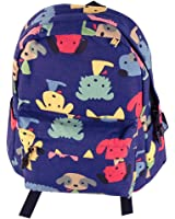 Zicac Childrens' Cute Canvas School Backpacks Mini Rucksack School Bag