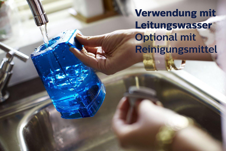 Leitungswasser genügt