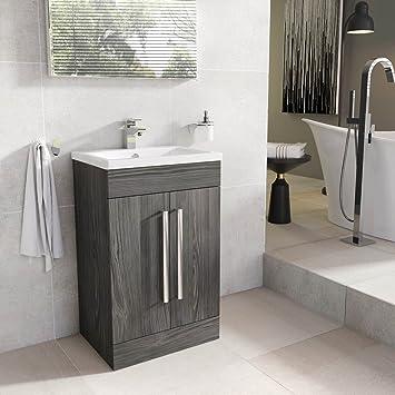 Swell The Bath People Newton Dark Wood Bathroom Standing Vanity Download Free Architecture Designs Scobabritishbridgeorg