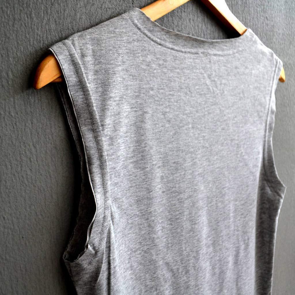 Casual Loose Tank Top Soft Comfortable Good Elasticity Top Hopeg Women Sleeveless Sunflower Letter Animal Tree Love Heart Elephant Print Shirt Vest