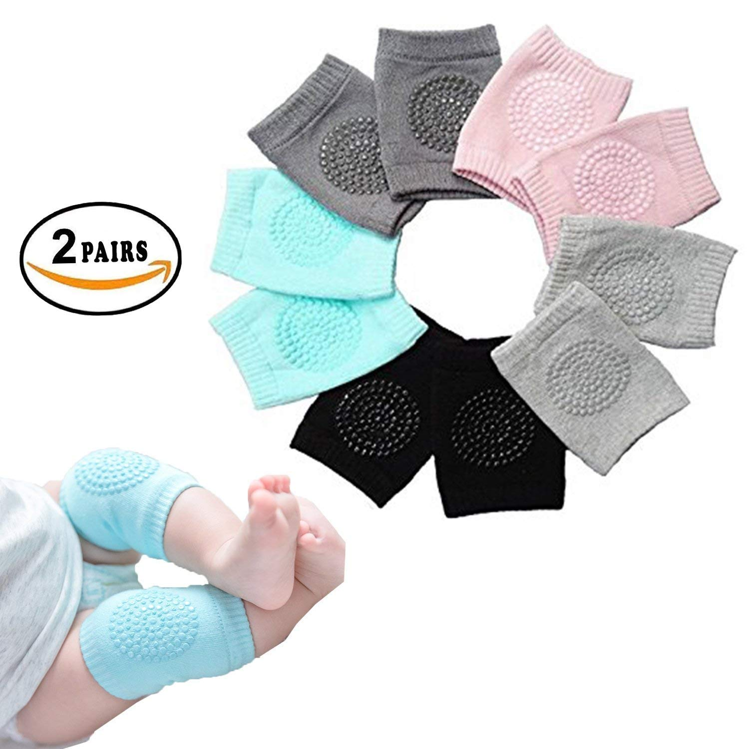 Baby Beds Along With Cute Breathable Baby Knee Pads