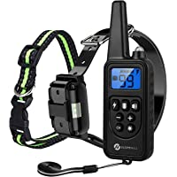 Slopehill Dog Training Collar, Waterproof Dog Shock Collar with 2600 Feet Remote,…