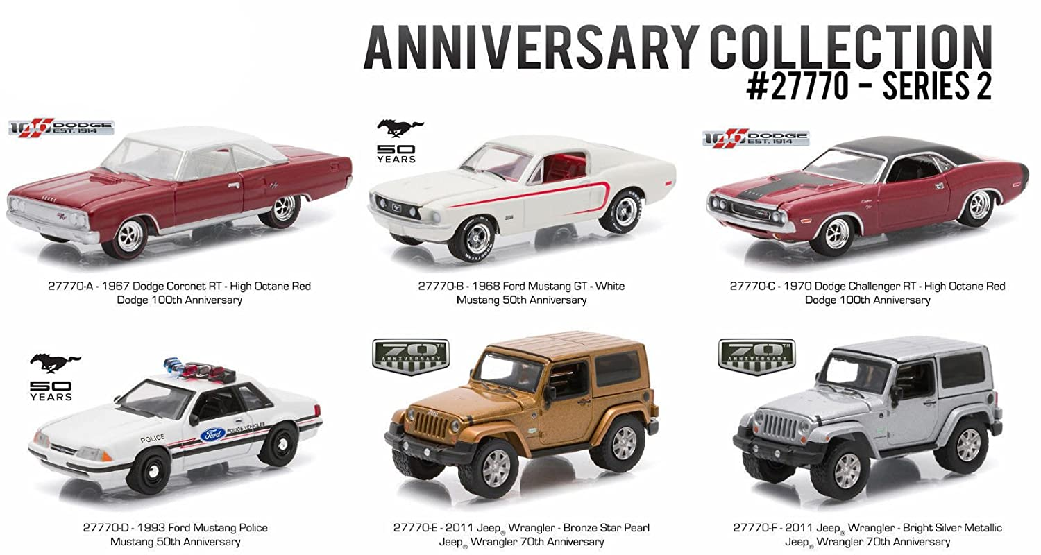 Greenlight 1 64 ANNIVERSARY COLLECTION SERIES 2 ASSORTMENT