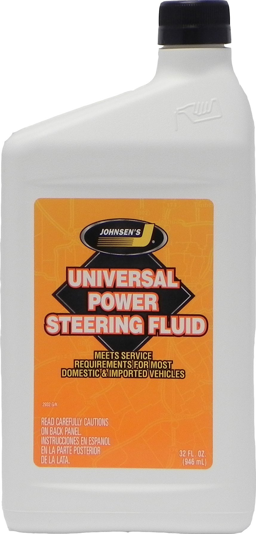 Johnsen's 2932 Universal Power Steering Fluid - 32 oz.