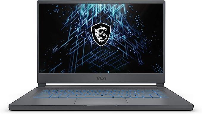 "MSI Stealth 15M Gaming Laptop: 15.6"" 144Hz FHD 1080p Display, Intel Core i7-11375H, NVIDIA GeForce RTX 3060, 16GB, 512GB SSD, Thunderbolt 4, WiFi 6, Win10, Carbon Gray (A11UEK-009) | Amazon"