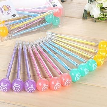 2X Kreative Nette Key Pen Gelschreiber Schulbedarf Büromaterial AB