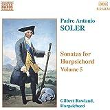 Soler: Sonatas for Harpsichord, Vol. 5