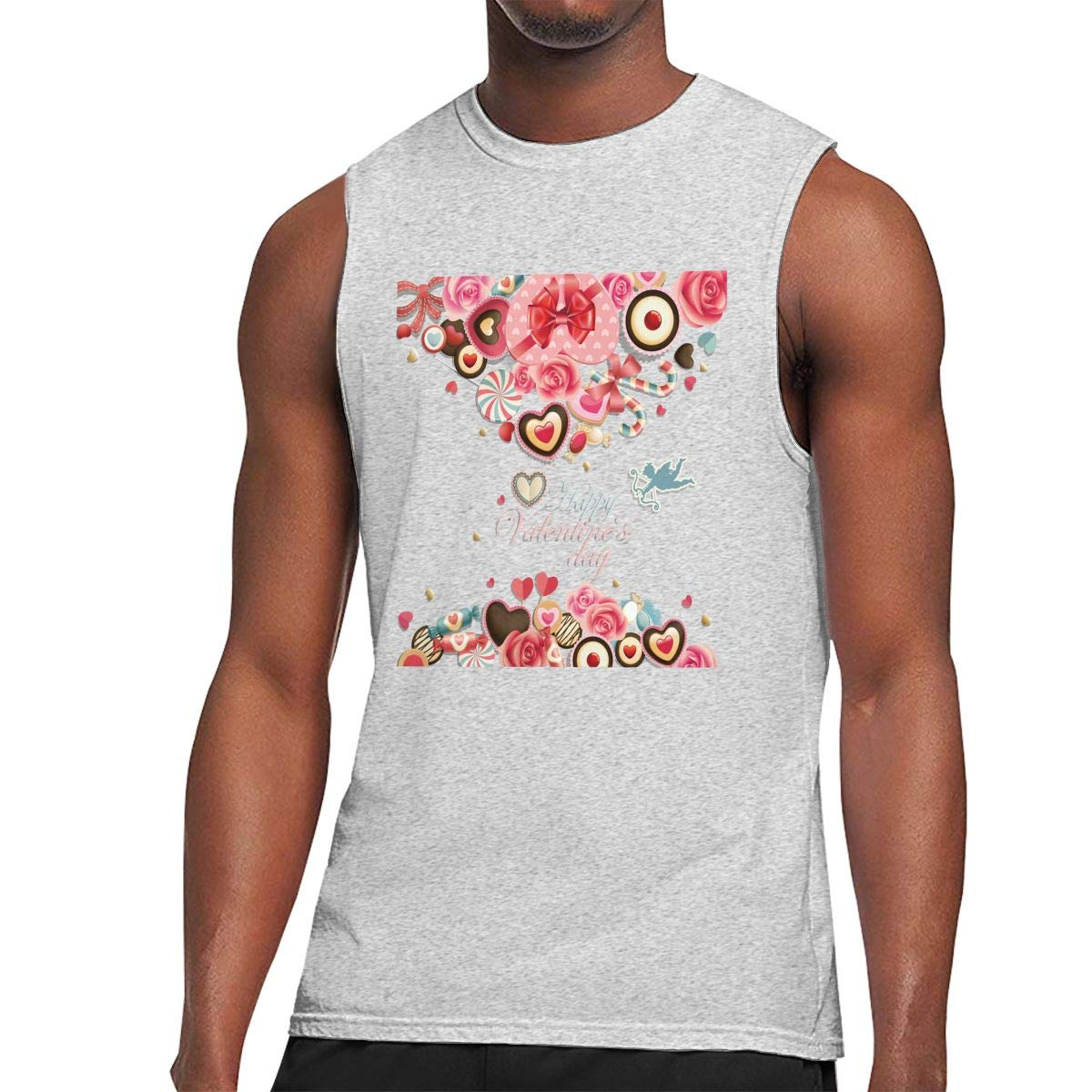 S Muscle Tank Top Softball Valentines Day Love Gym Trainingtech Running Activewear Shirts