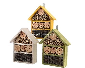 Madera insectos Casa insectos hotel ~ Eco jardineros ~ abeja ~ mariquita: Amazon.es: Jardín