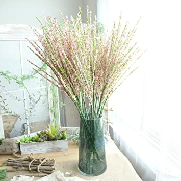 FeiliandaJJ Künstliche Blumen Deko,Winter-Jasmin 1 ...