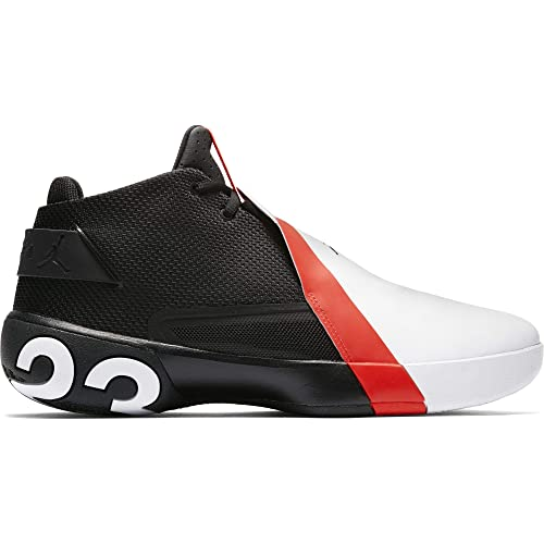 Jordan Ultra Fly 3, Zapatillas de Baloncesto para Hombre, (Black/Infrared 23-White 023), 52.5 EU: Amazon.es: Zapatos y complementos