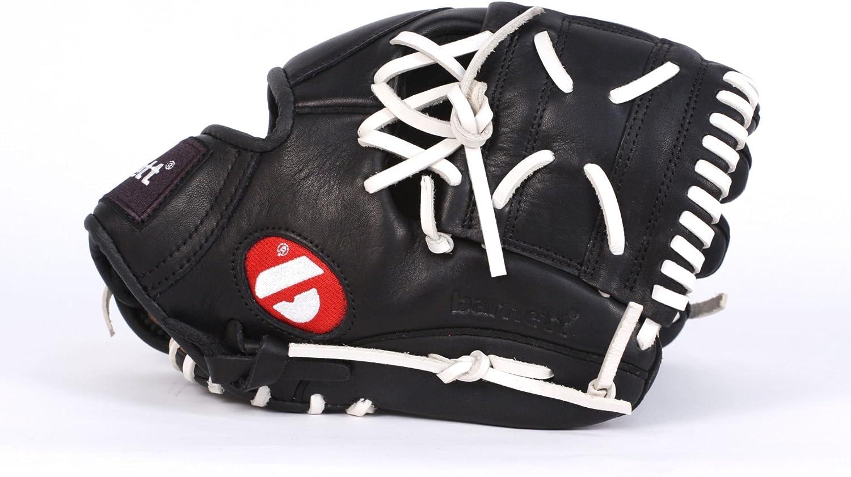 black Barnett GL-115 Competition infield baseball Glove 11.5