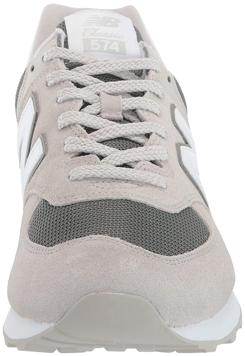 New Balance Herren 574v2 Sneaker Light Cliff Grey/Mineral Green