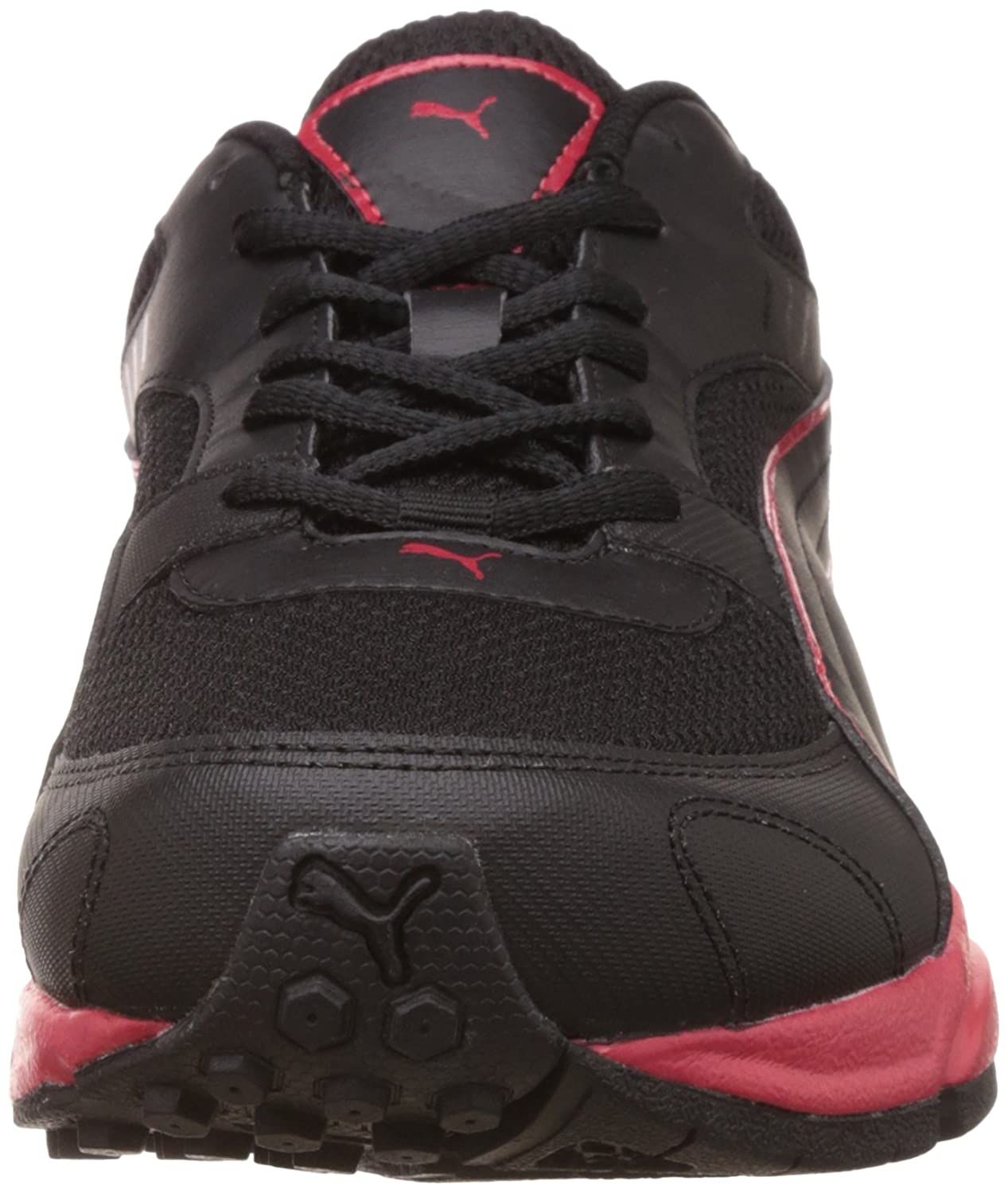 b49fcc5d87dfa9 Puma Men s Atom Fashion III Idp Puma Black and High Risk Red Running Shoes  - 6 UK India (39 EU)  Buy Online at Low Prices in India - Amazon.in