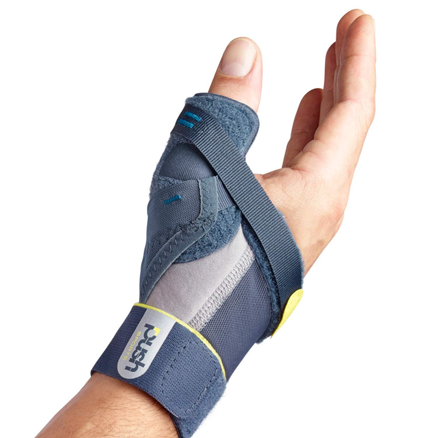 Push Sports Thumb Brace - Stabilizes Skier's Thumb, Optimizes Function (Left Large) by Push Sports