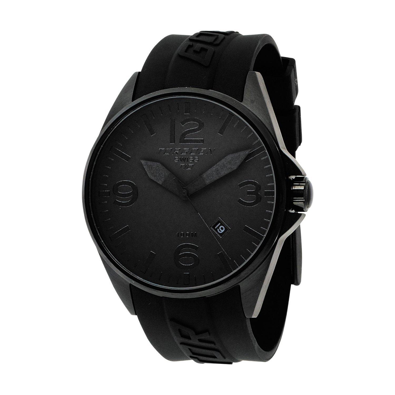 Torgeon Herren-Armbanduhr Analog schwarz T10302