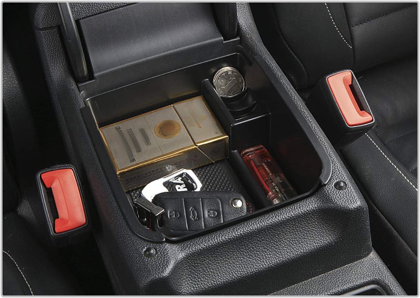 CDEFG f/ür V W Touran 2016-2019 Handschuhfach Armlehne Multifunktionaler Aufbewahrung Auto Center Console Organizer Tray Innenraum Zubeh/öraum Zubeh/ör