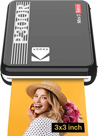 Kodak Mini 3 Tragbarer Drucker Für Smartphones Kamera