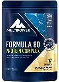 Multipower Formula 80 Protein Complex, Vanilla Cream, 510 g