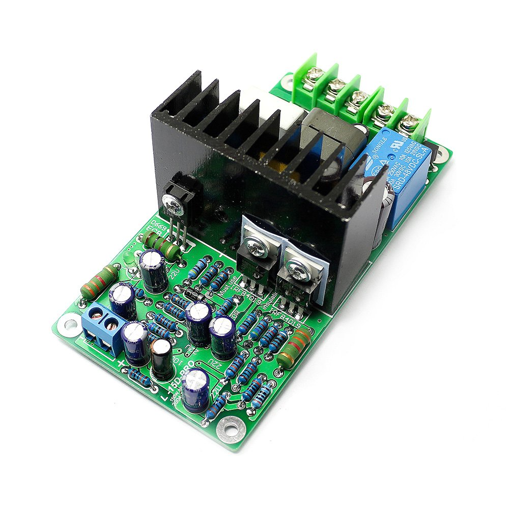 Irs2092 Irfb4019 Class D Mono Channel Power Audio Amplifier Projects To Control The Speaker Output Relay Board Protection Industrial Scientific
