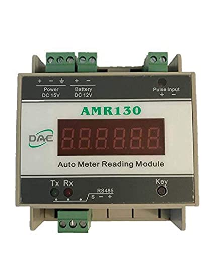 fb914e3eac168f Amazon.com : DAE AMR130 (Auto Meter Reading Module with Modbus/RS485  Communications) for 1 Water Meter : Garden & Outdoor