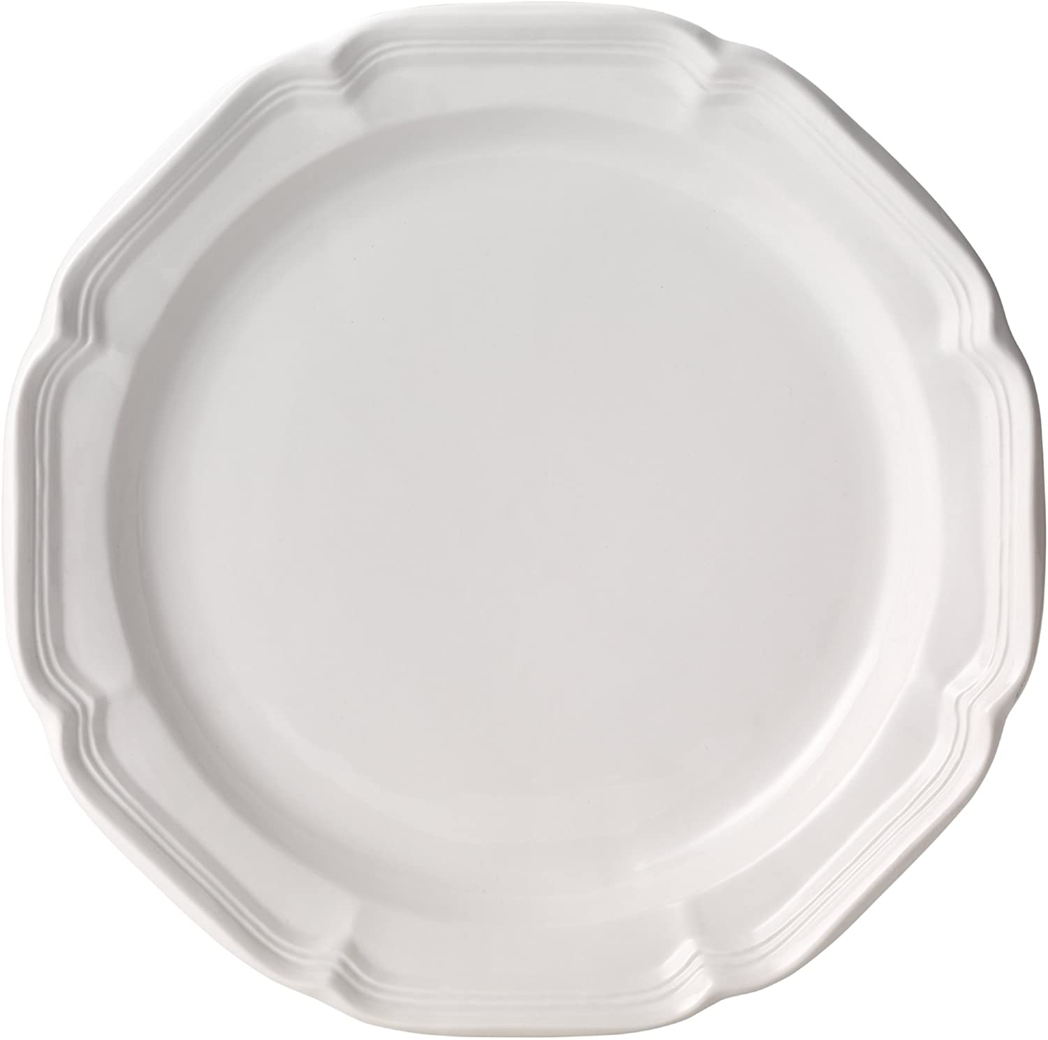 | Mikasa French Countryside Dinner Plate, White, 10.75-Inch - F9000-201: Cereal Bowls