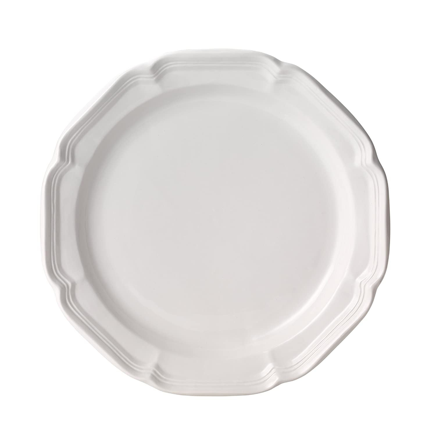 Mikasa French Country Dinner Plate, 10.75, White 10.75 F9000-201 DCBD MKCFCS 001