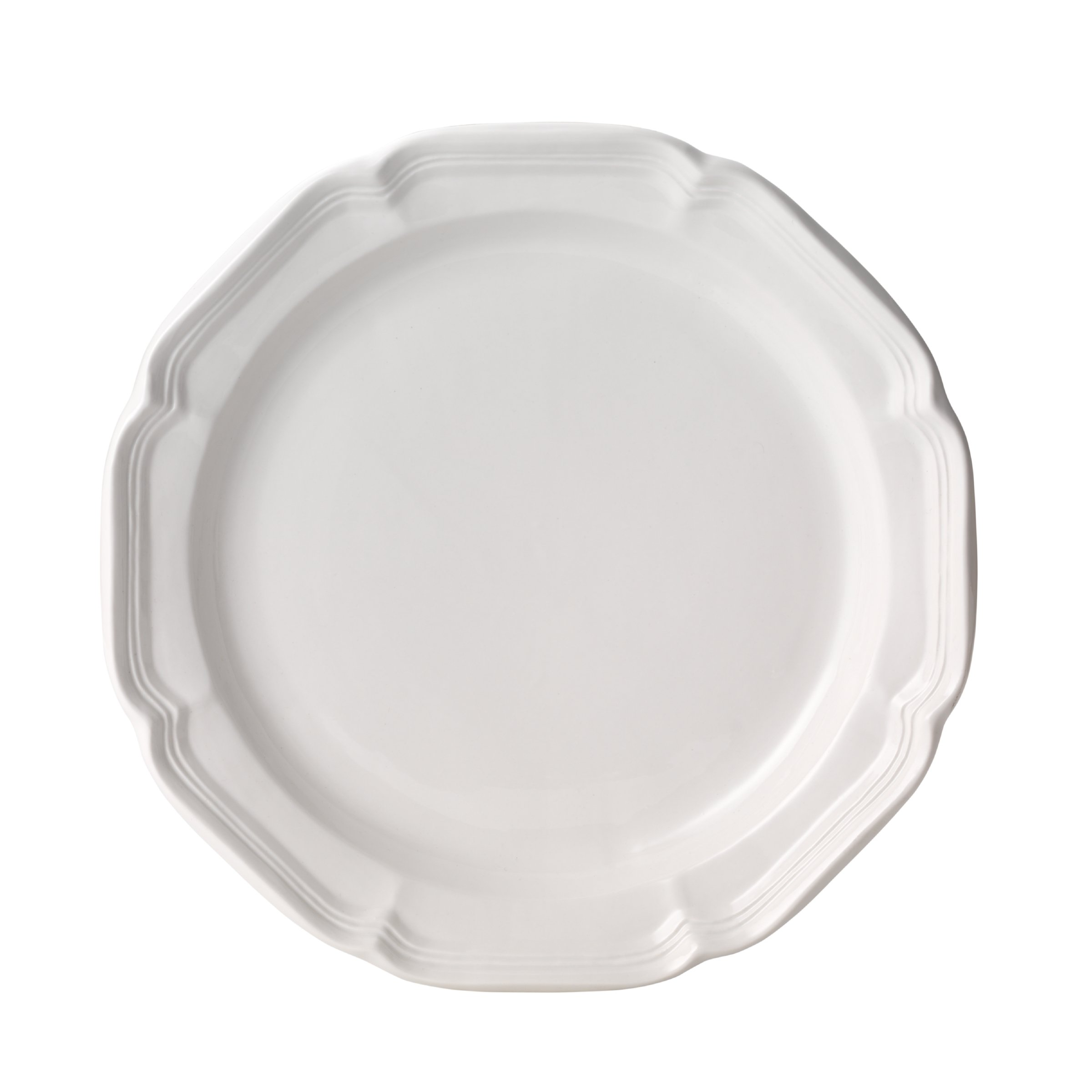 Mikasa French Country Dinner Plate, 10.75'', White by Mikasa (Image #1)