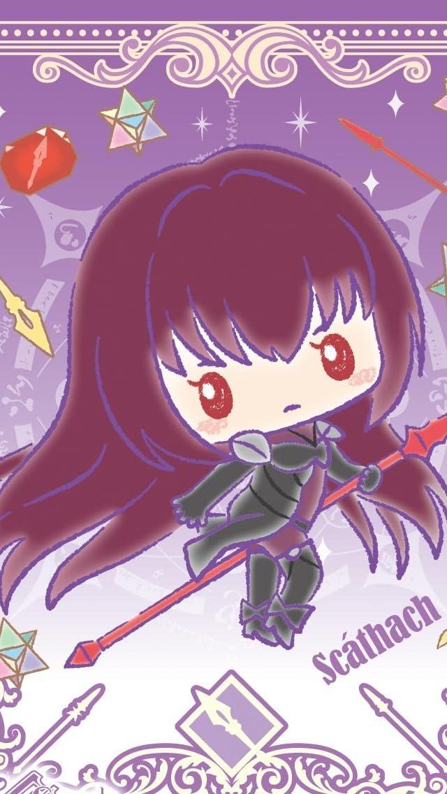 Fate スカサハ  iPhoneSE/5s/5c/5(640×1136)壁紙画像