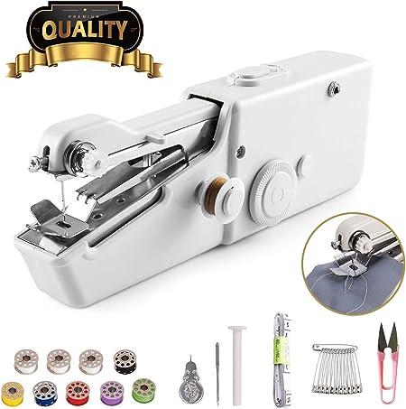 Máquina de coser de mano – Mini máquina de coser portátil de mano ...