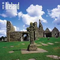 Ireland 2018 12 x 12 Inch Monthly Square Wall Calendar