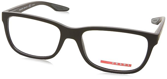 66c39fce3ee Prada PS02GV Eyeglass Frames UB01O1-54 - Brown Rubber PS02GV-UB01O1 ...
