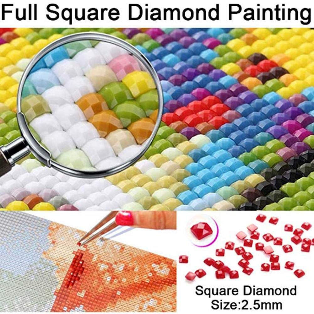 (24x34cm)Full Square 5D Diamond Painting Home Sweet Home Rhinestone Mosaic Painting New Arrival DIY Cross Stitch 3D Diamond Embroidery