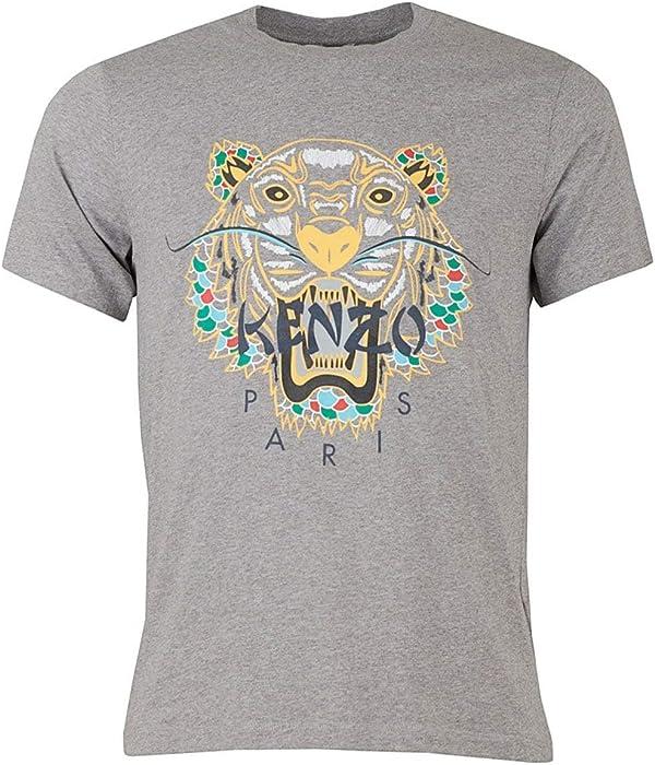 baeaed154 Kenzo Dragon Tiger Grey T-Shirt (S) | Amazon.com