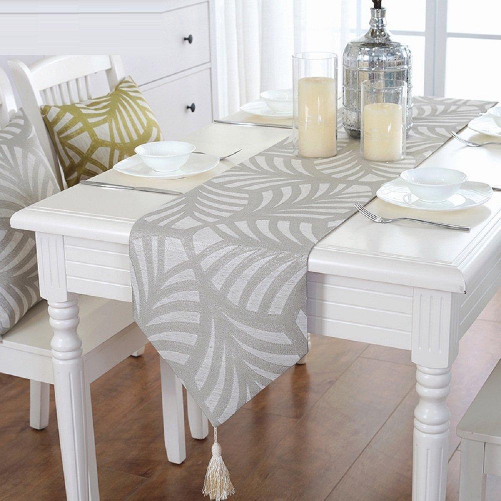 ZC&J Caminos de mesa de gama alta de la tabla, paño de mesa de ...