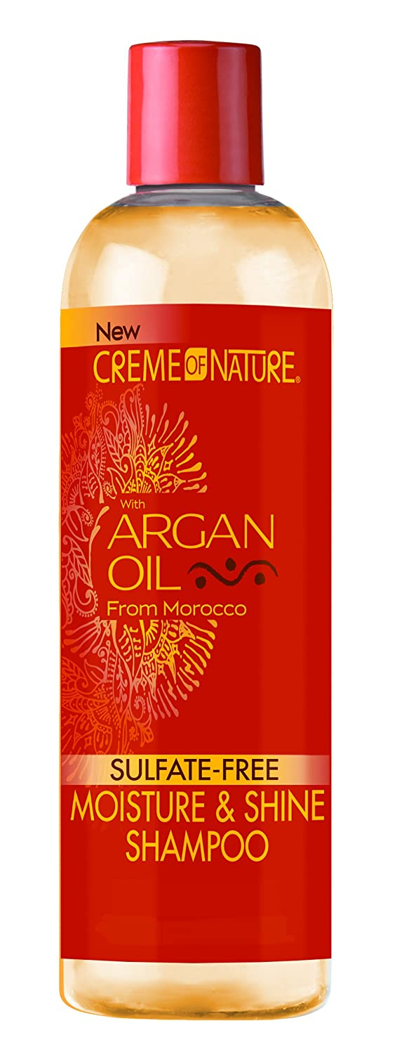 Creme of Nature Moisture & Shine Shampoo with Argan Oil: 12 OZ ULT-107