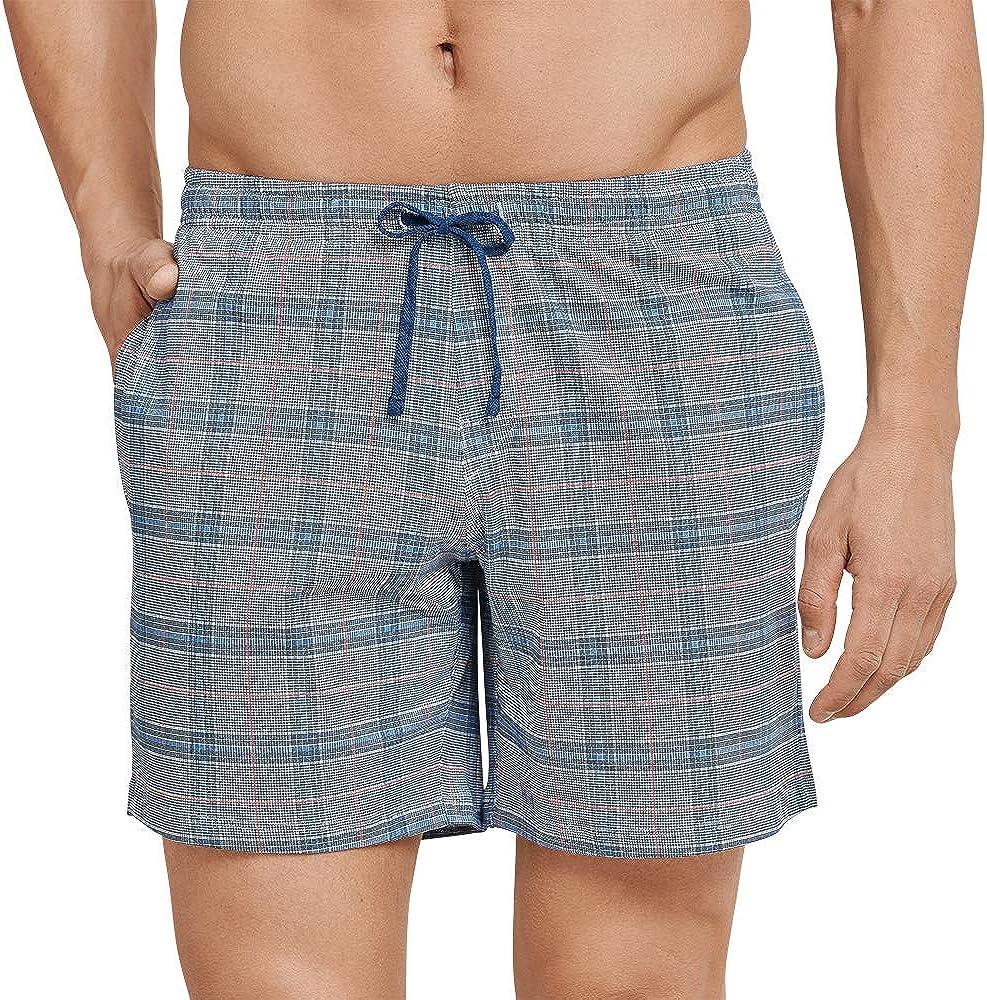 Schiesser Mix /& Relax Long Boxer Pantaloni Pigiama Uomo