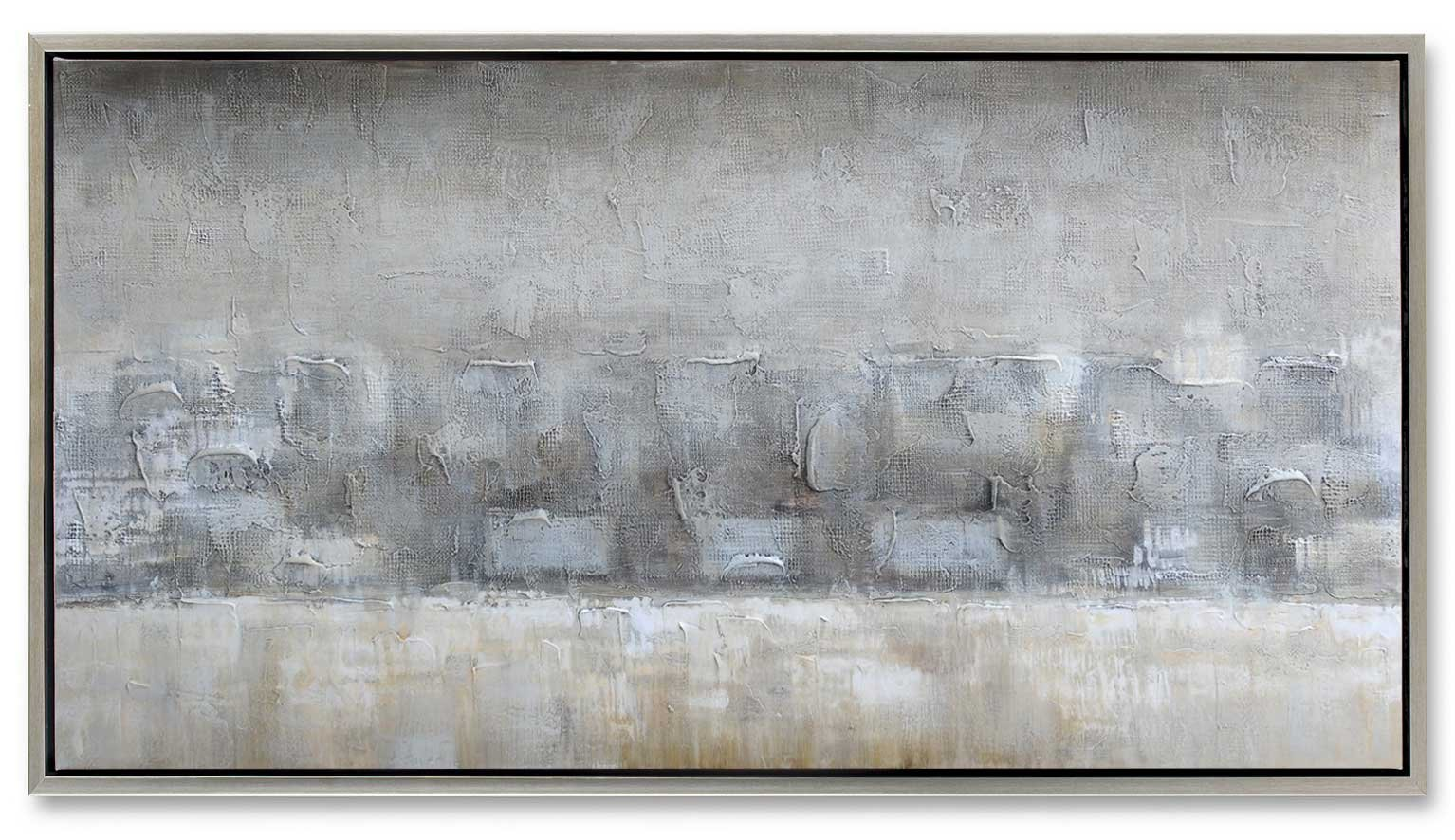 Gild Design House 01-00940'' Desert Horizon Framed Original Painting, Monochromatic