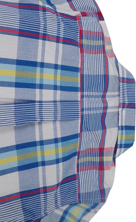 Spring/&Gege Boys Casual Short Sleeve Check Plaid Soft Sport Shirts
