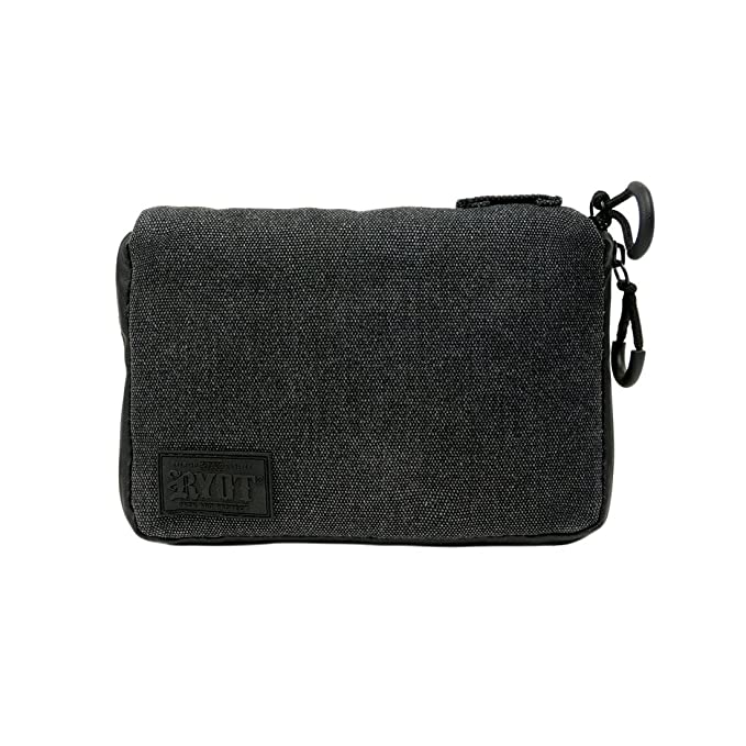 e4dcc8a5b4cb Lockable PackRatz Medium Carbon Series with Odor Protection, Black ...