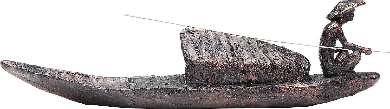 KARE Design dise/ño de Barco Figura Decorativa para Pescador
