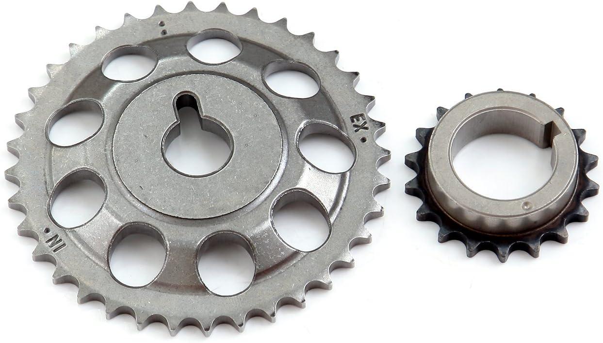 TUPARTS Timing Chain Kit fits for S-cion xA xB for T-oyota Echo Prius C Yaris 1.5L 2004 2006 TK2045